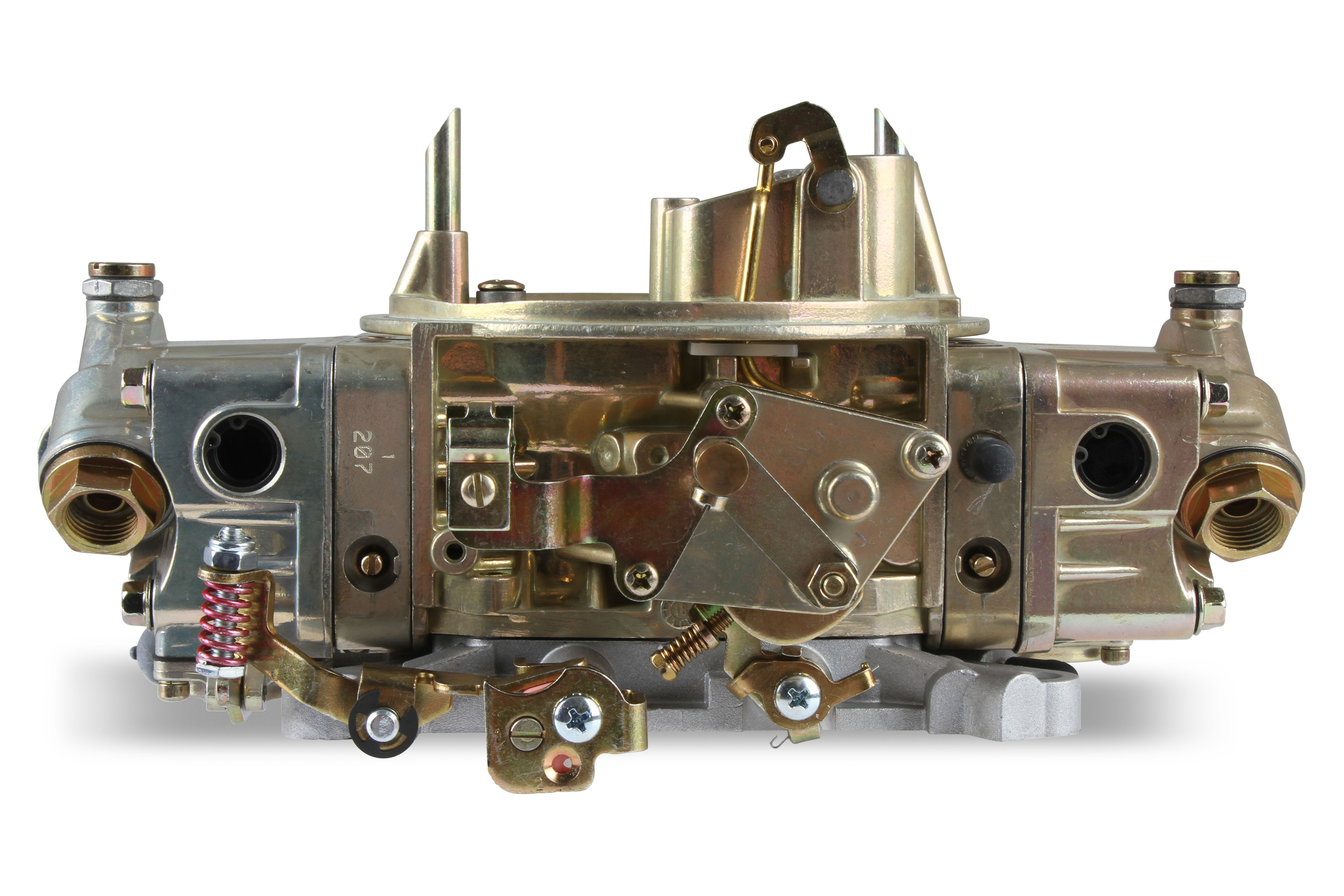 Square Bore Holley 4776 Double Pumper Complete Base Plate Assembly