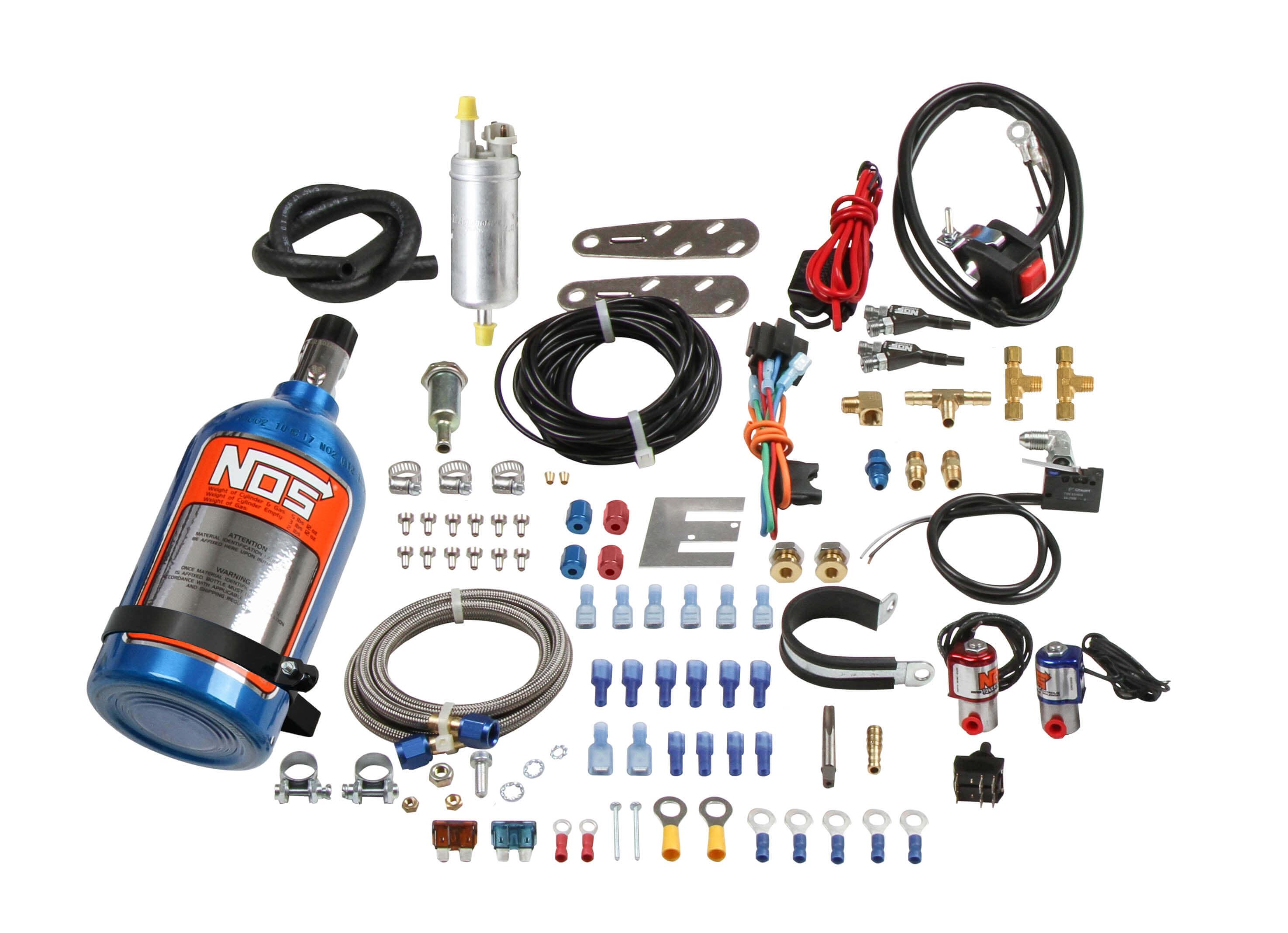 NOS V-Twin 4-Stroke Fogger Wet Nitrous System on