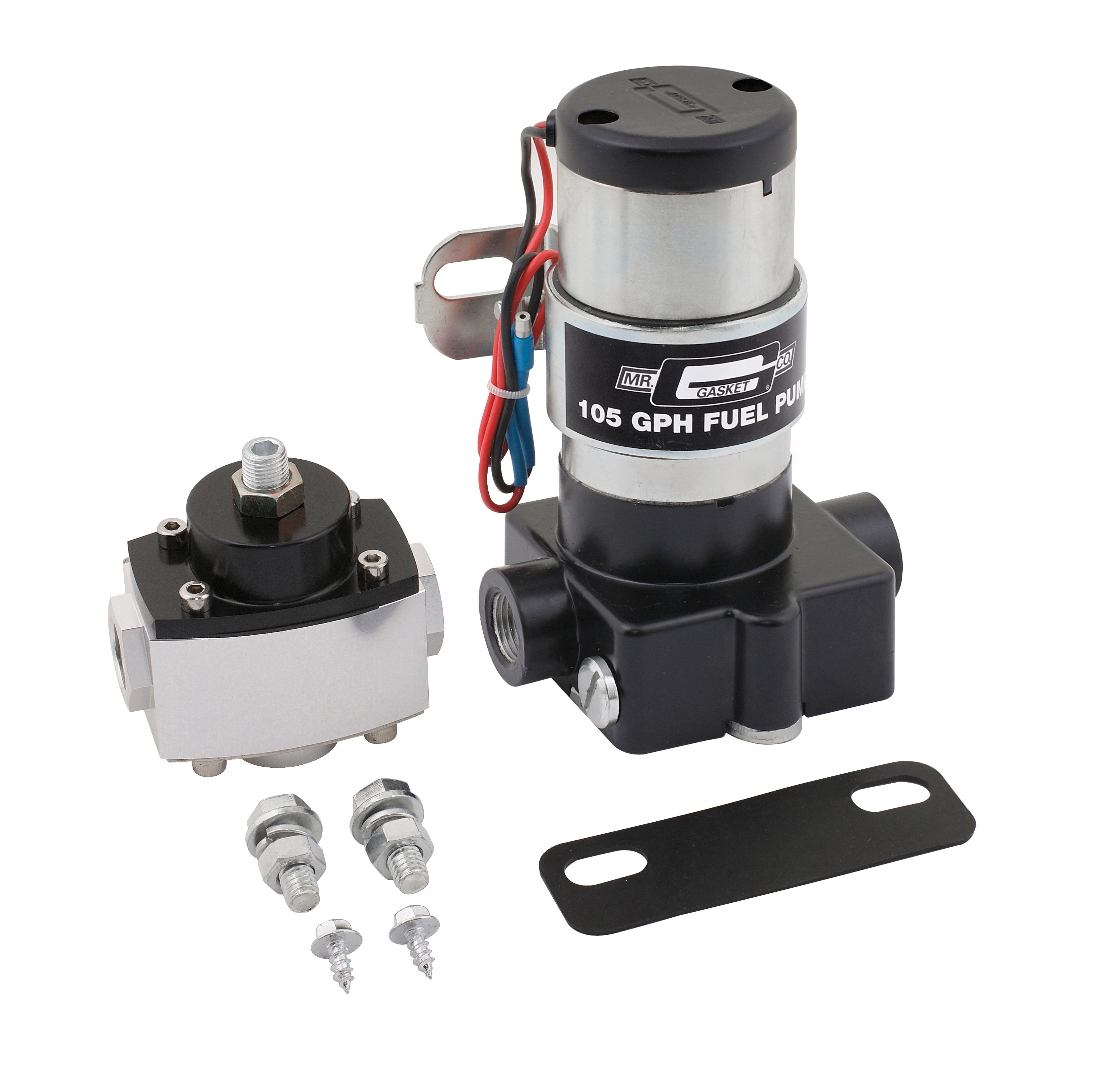 Mr  Gasket Electric Fuel Pump with Regulator - 105 GPH