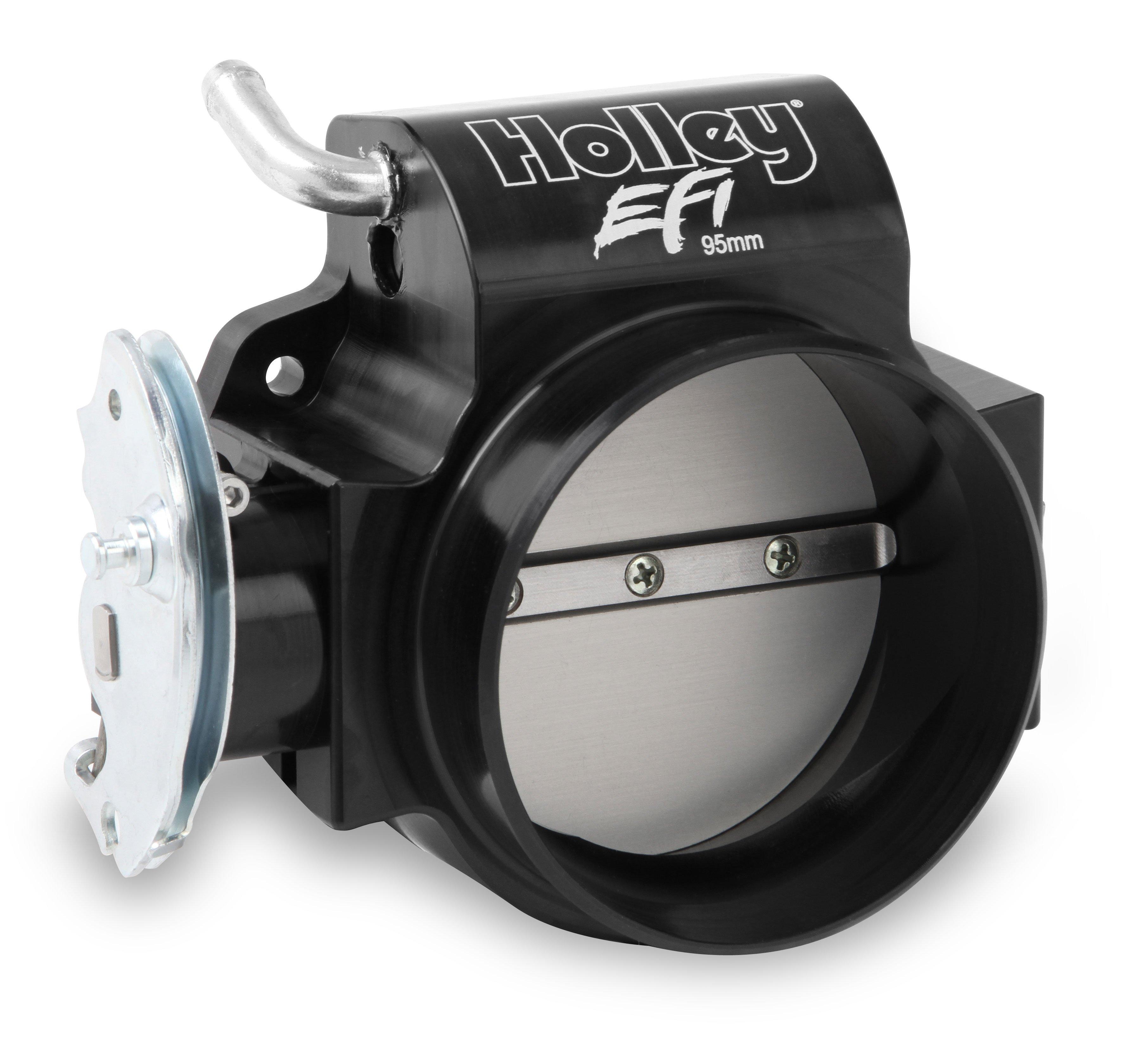 BILLET 95mm LS Throttle Body w/low RPM Taper