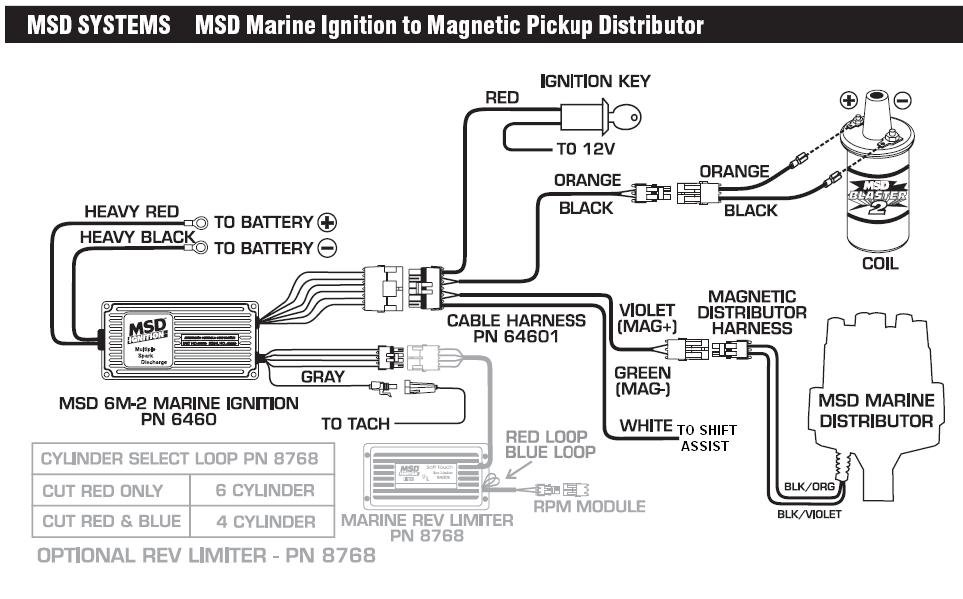 mallory dist wiring diagram 6460 to mag pickup distributor msd blog  6460 to mag pickup distributor msd blog