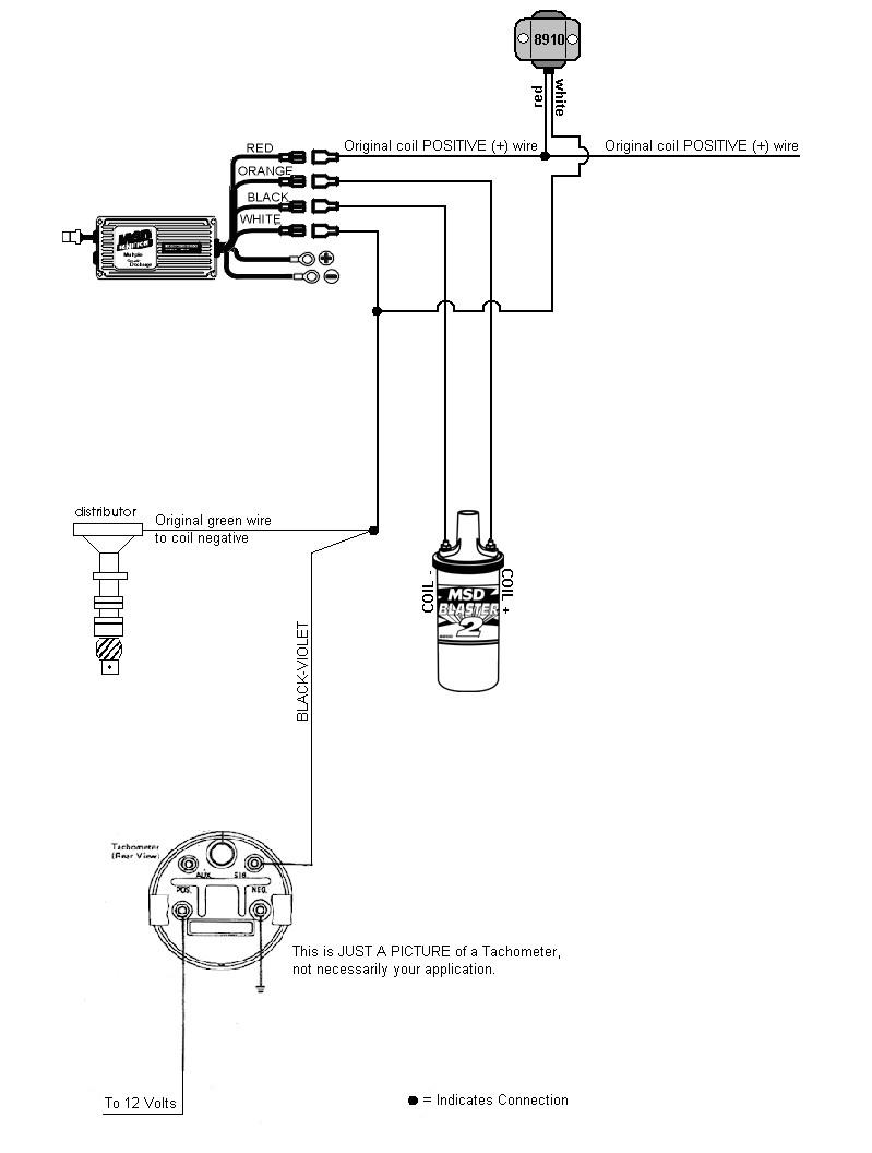 1972 Porche 914 Tach Drawing