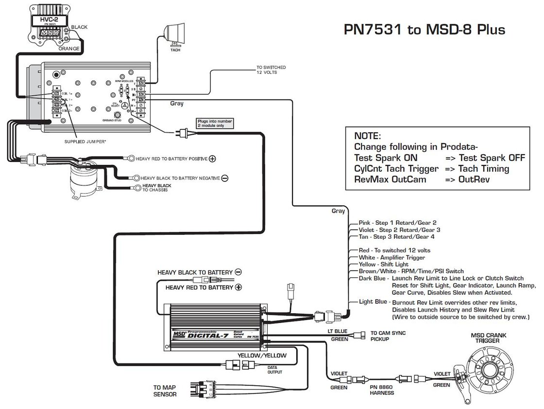 atomic efi msd ignition systems wiring diagrams circuit Msd 2 Step Wiring Diagram Atomic EFI MSD 6AL With