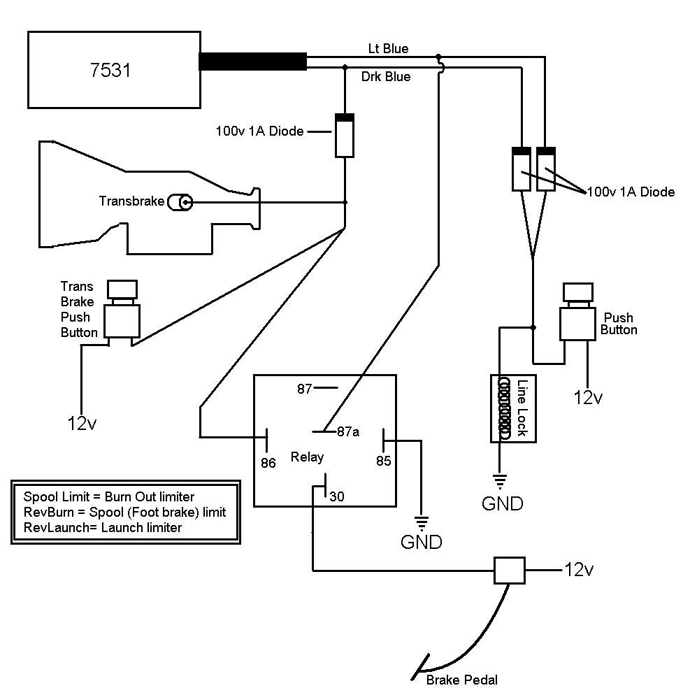 nitrous controller wiring diagram with relay nitrous oxide