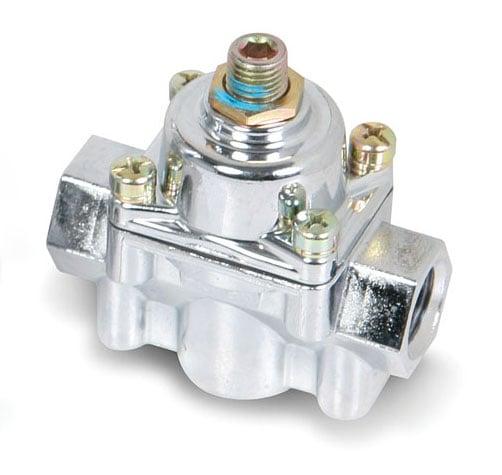 Chrome Carbureted Fuel Pressure Regulator