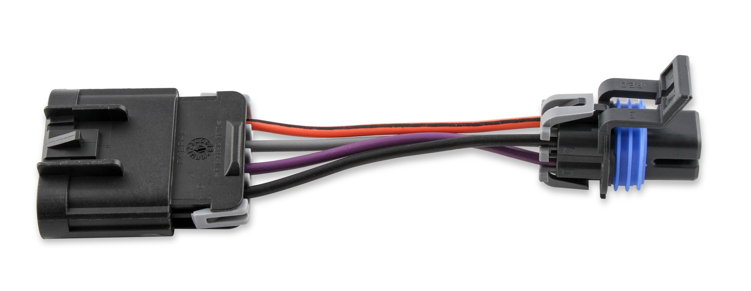Holley 12 952wh Connector Wiring Harness Drop In Fuel Module Assembly Cover For Wire Image