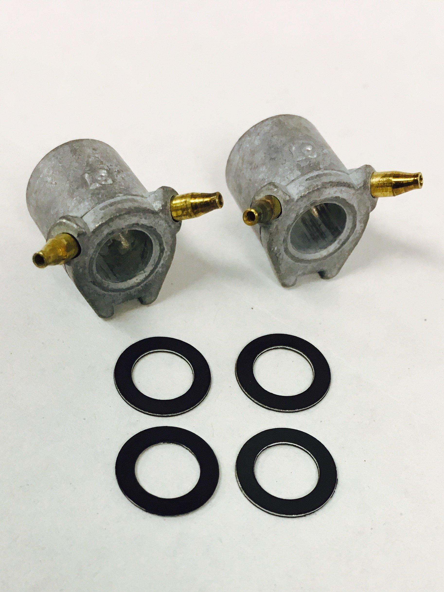 .031 Accelerator Pump Squirter Discharge Nozzles /& Gaskets Fits Holley Carb 2