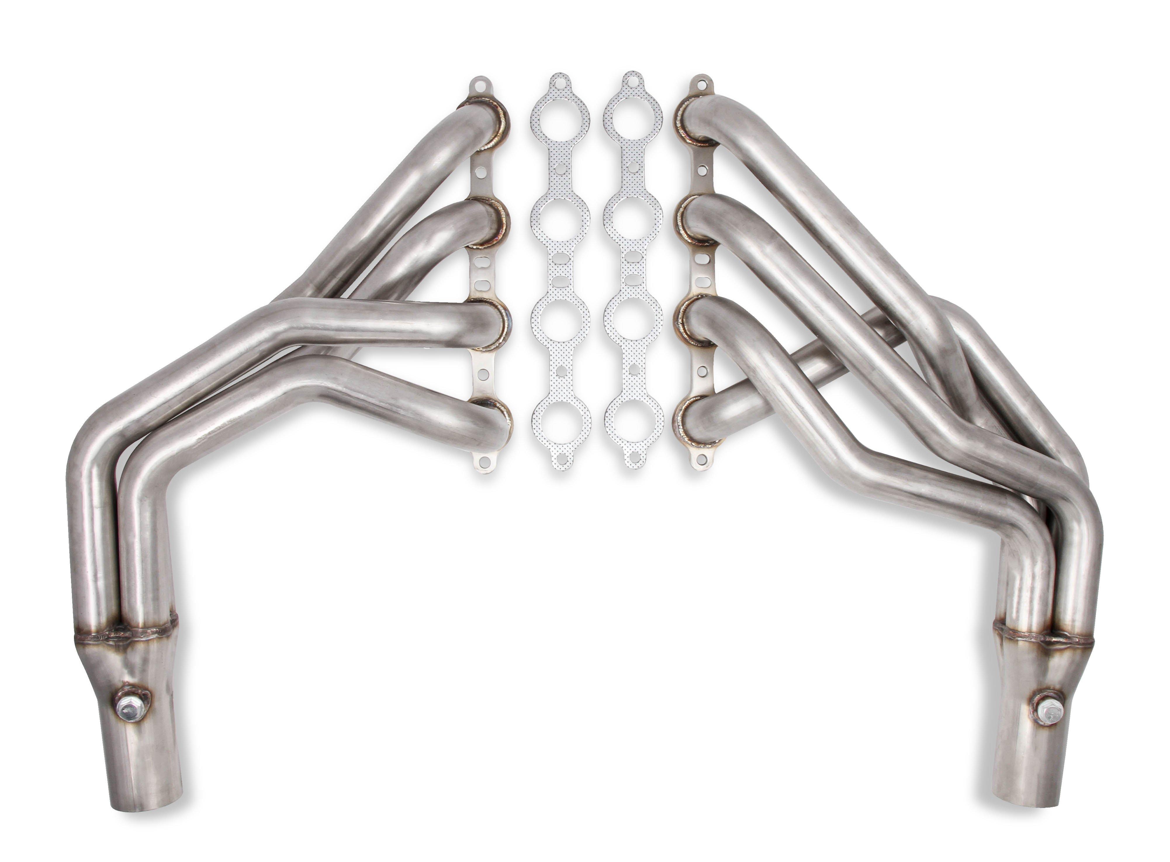 Flowtech Long Tube LS Swap Headers - Natural