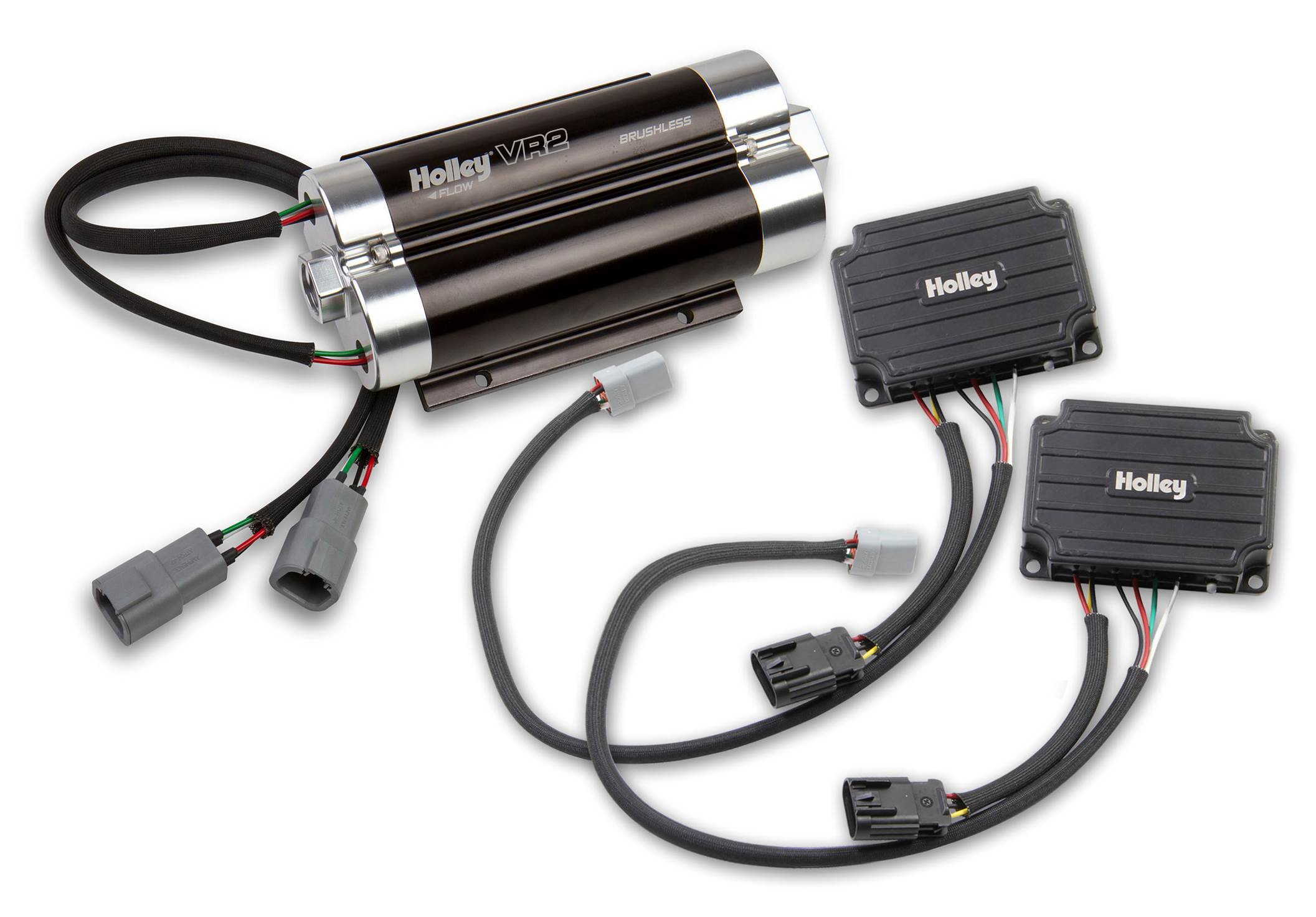 12-3000-2 - VR2 Brushless Fuel Pump w/Controller-Dual 10AN
