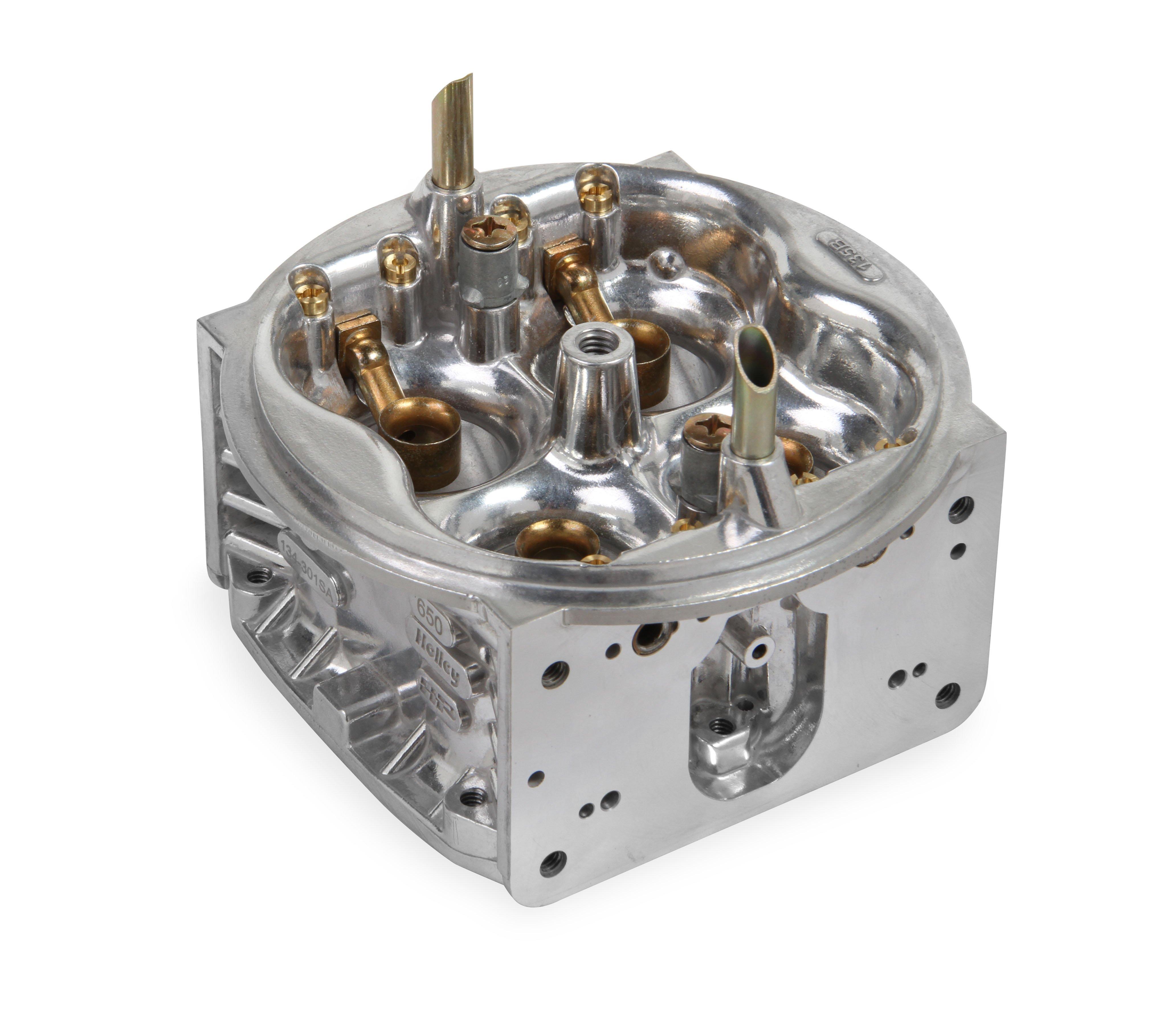 Holley 134-76C Aluminum Chromate Finish Fuel Bowl Kit