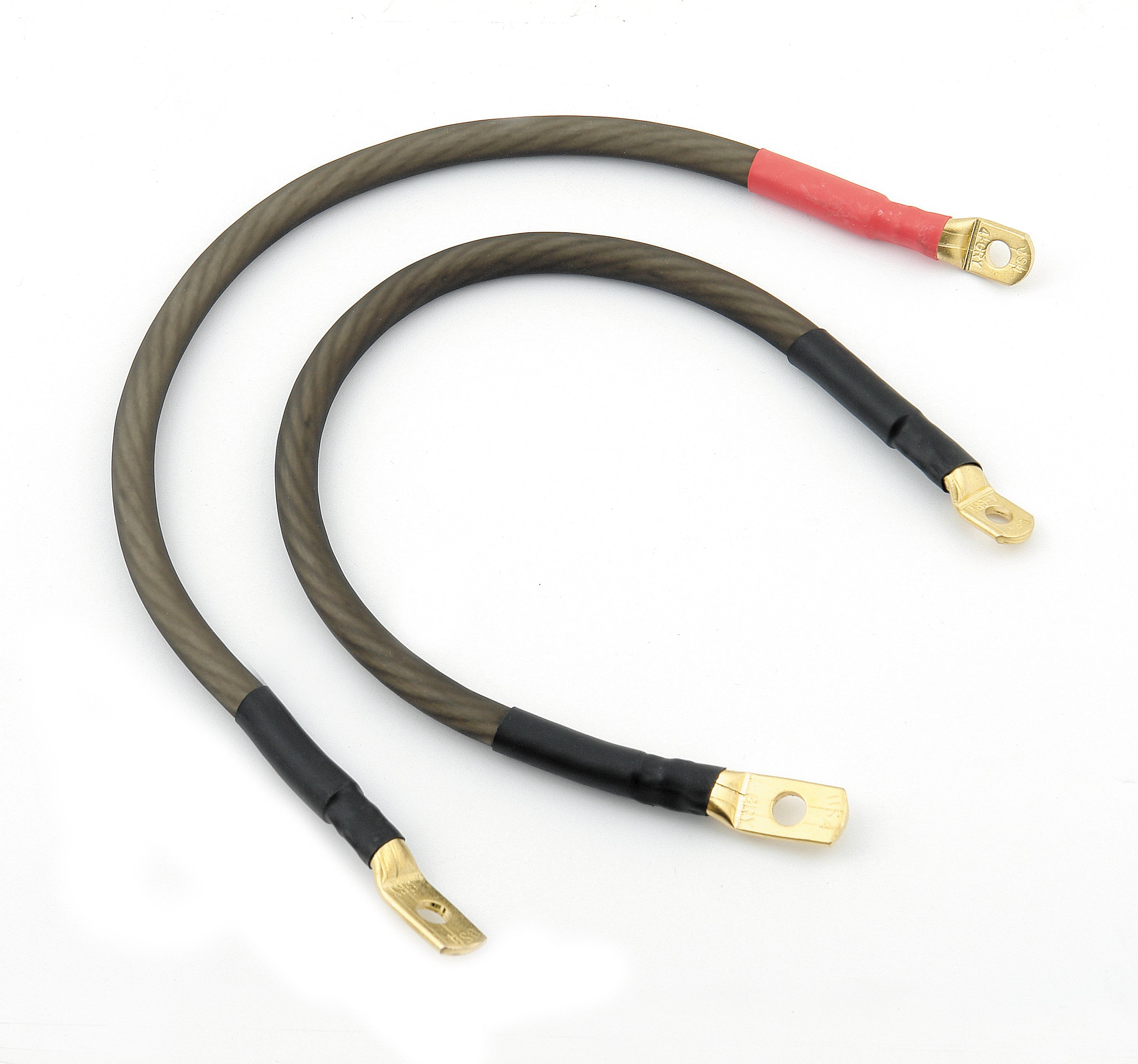 ACCEL Motorcycle 151408 Battery Cable Set - Dyna - 4 Gauge