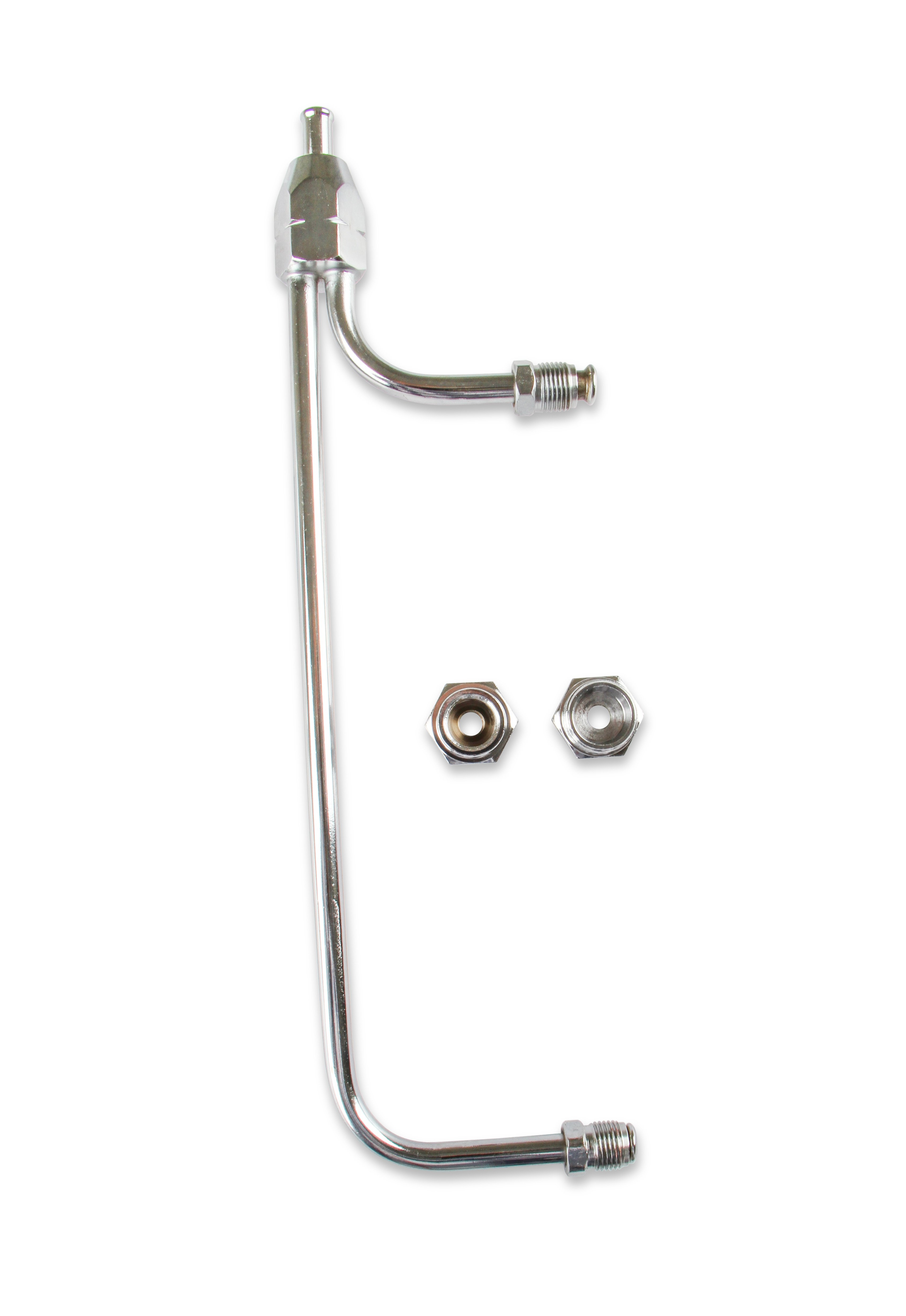 Gasket 1552 Chrome Gas Line Kit for Holley 4-barrel carburetor Mr Gasket Mr
