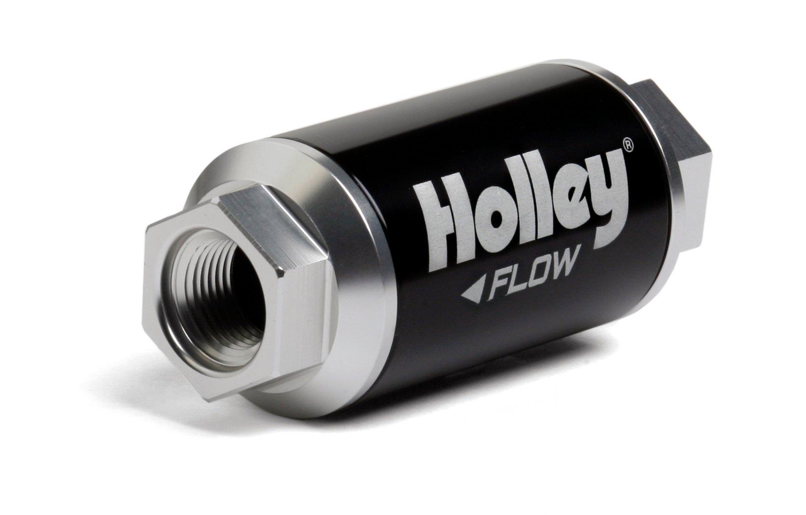 Holley 162-551 100 GPH HP Billet Fuel FilterHolley