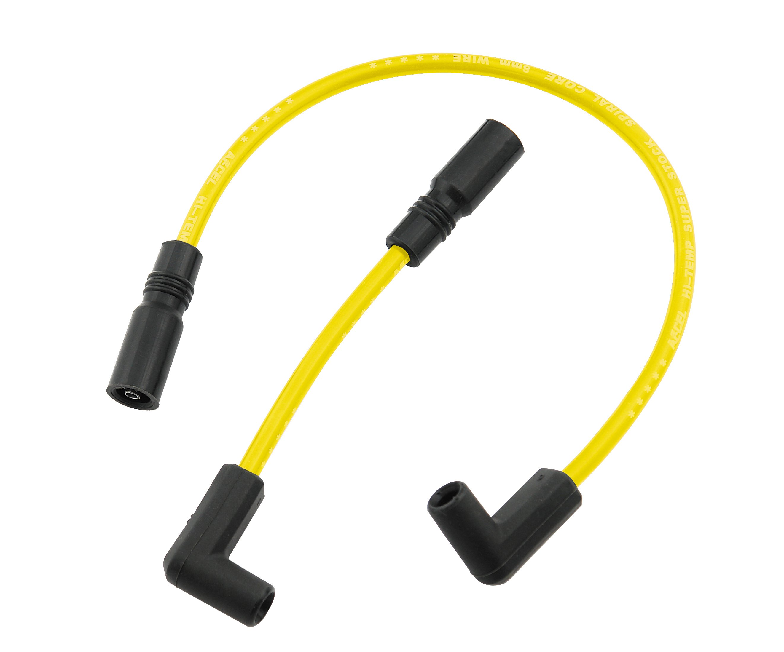 Custom Wire Set - 1999-2008 Buell All Models / 1999-2017 Dyna FXD (Carb or  FI) - 8MM - Yellow