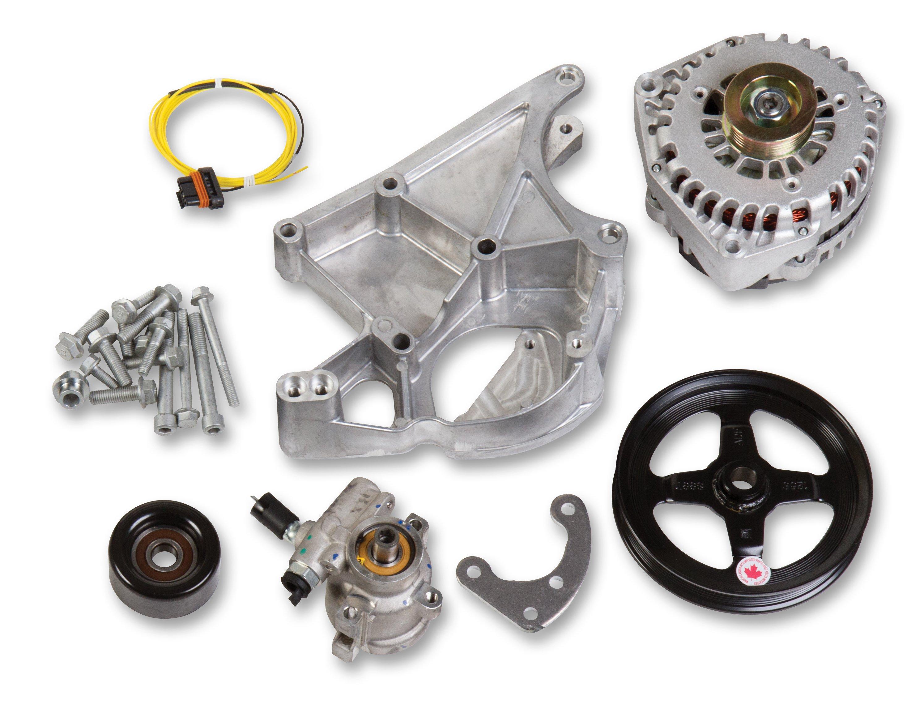 LS/LT Alternator & Power Steering Pump Accessory Drive Kit - Driver's Side  Bracket