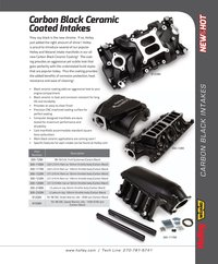 Black Intake manifolds flyer