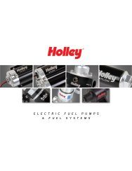 Holley Fuel Systems