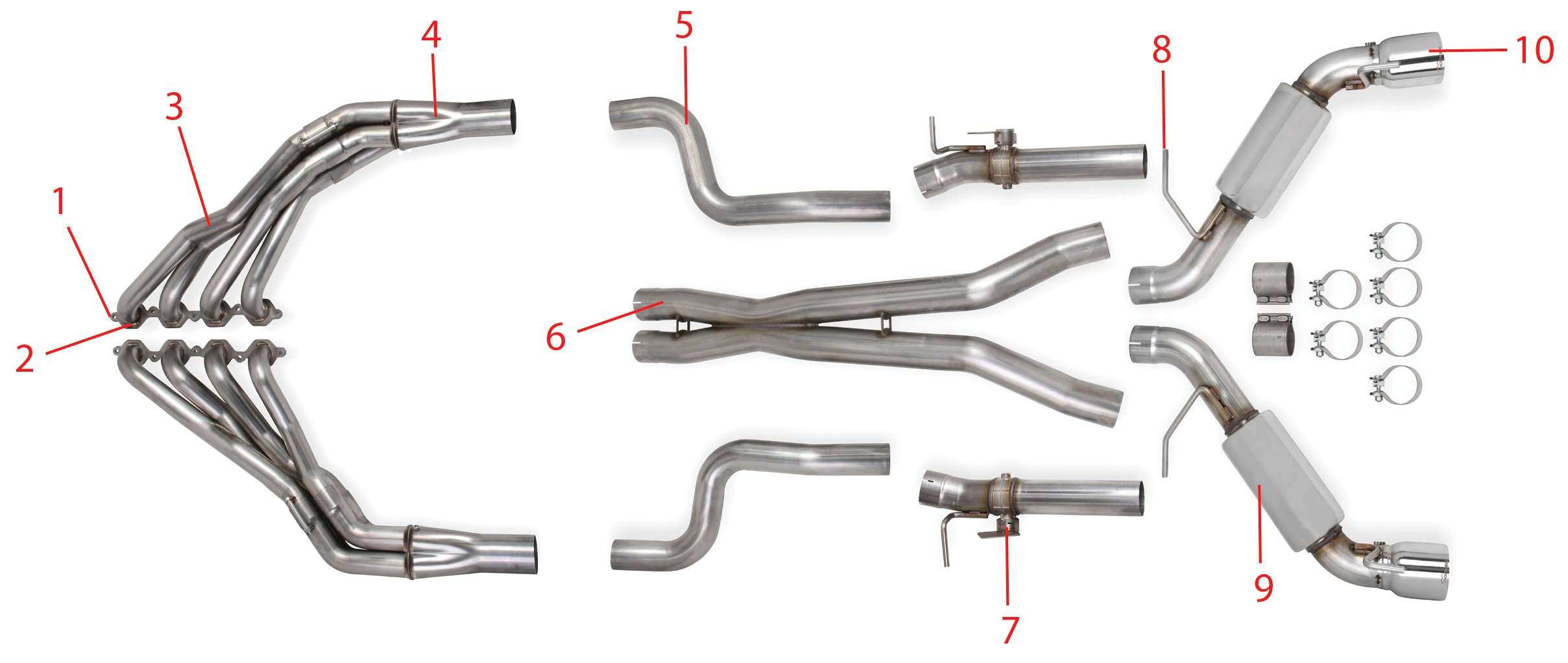 2002 chevy trailblazer exhaust system diagram