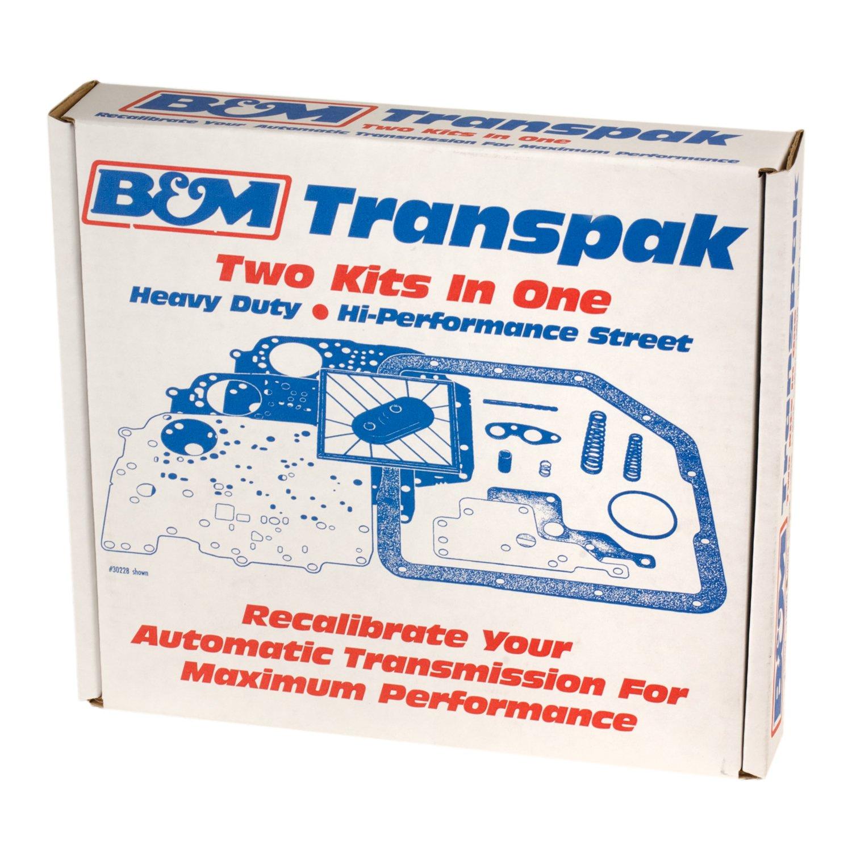 B&M Transpak - GM TH400/375 Transmissions