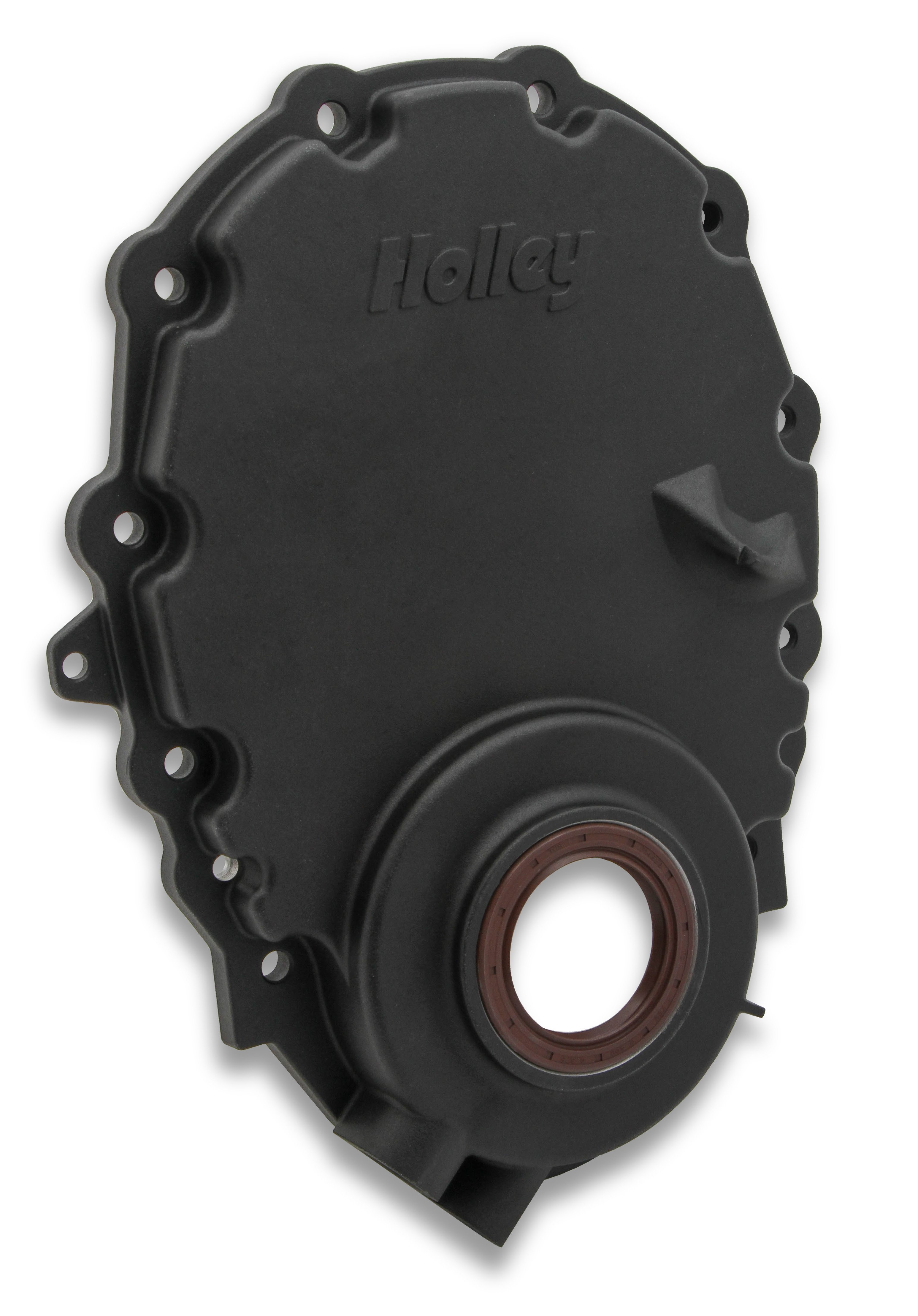 Holley 21 151 Cast Aluminum Timing Chain Cover 5 3 Vortec Crate Engine With Wiring Harness Free Image