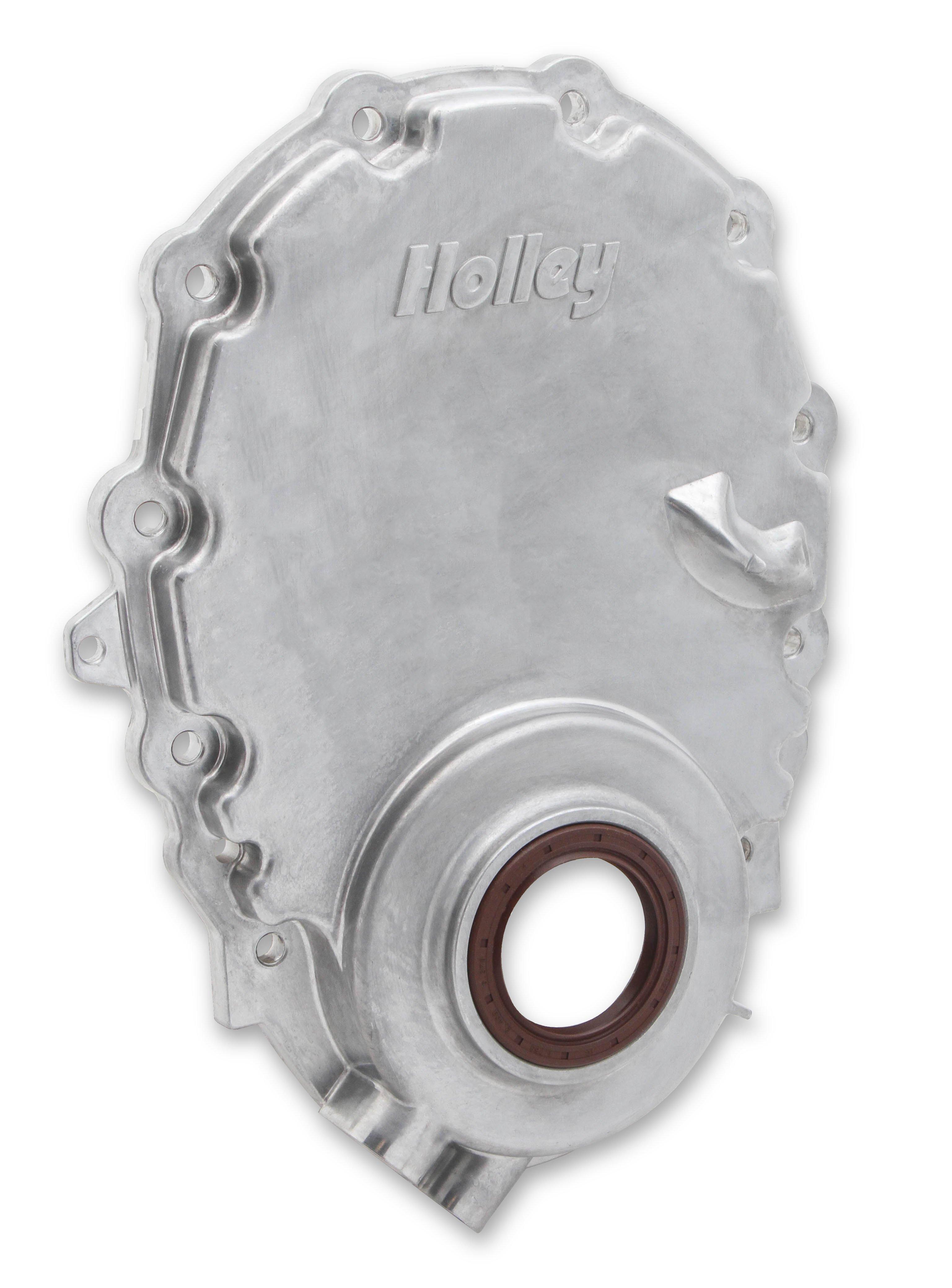 Holley 21 152 Cast Aluminum Timing Chain Cover 4 3l Vortec Engine Diagram Image