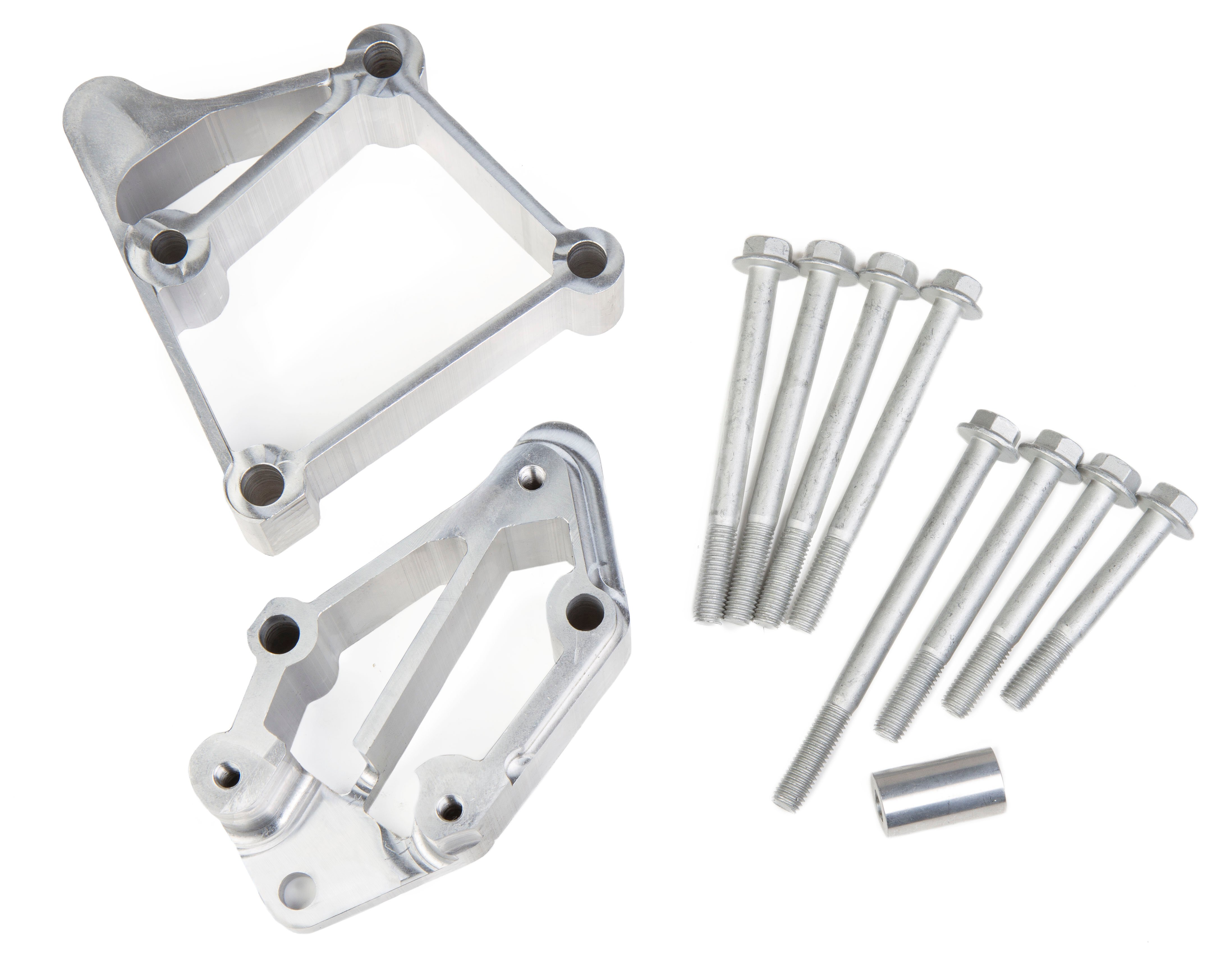 Holley 20 134 Ls A C Accessory Drive Bracket Fits Sanden Sd508 Or Ac Compressor Brackets Diagram For 1978 Corvette Installation Kit Long Alignment