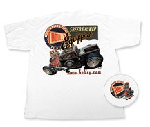 Holley Retro White T-Shirt