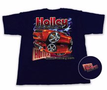 Holley Camaro Re-Birth Navy Blue T-Shirt