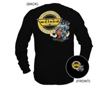 Weiand Retro Hemi Black Long Sleeve T-Shirt