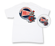 Holley Flathead Retro White T-Shirt - 10012_nav.png