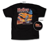 Holley Mustang Re-Birth Black T-Shirt - 10013-__hol.jpg
