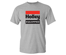 Holley Equipped Gray T-Shirt