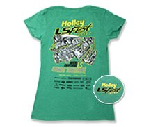 2017 Holley LS Fest East - Ladies Green Event Tee
