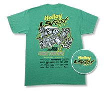 2017 Holley LS FEST East - Green Event Shirt