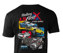 2019 Holley LS Fest Drag Racing Event T-Shirt