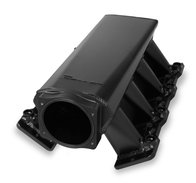 Fabricated Sheet Metal Intake - Holley Performance Products