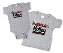 Holley Original Kids T-Shirt - GreyHolleyOrig2TOnsie_nav.jpg