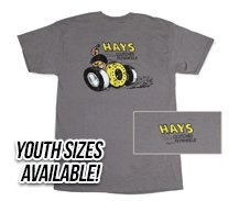 Hays Cartoon T-Shirt - haysgraycaptureNEWsmallyouth.jpg