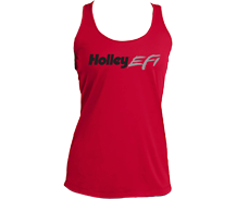 Holley EFI Ladies Red Tank