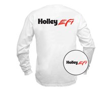 Holley EFI White Long Sleeve T-shirt - holleyefiwhitels.jpg
