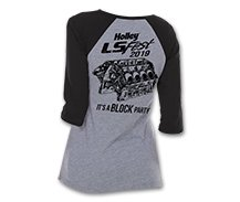 2019 Ladies LS Fest Block Party Baseball Tee