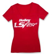 Ladies Red Holley LS Fest V-Neck - ladiesredlsfest18159.jpg