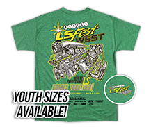 2017 LS Fest West Engine Event Tee