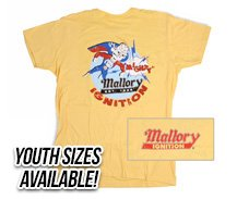 Mallory Ignition Cartoon T-Shirt - mightymalloryNEWsmall.jpg
