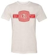 MSD Red Logo Cream T-Shirt  - msd-creme-mockup18163.jpg