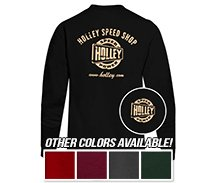Holley Speed Shop Long Sleeve T-Shirts