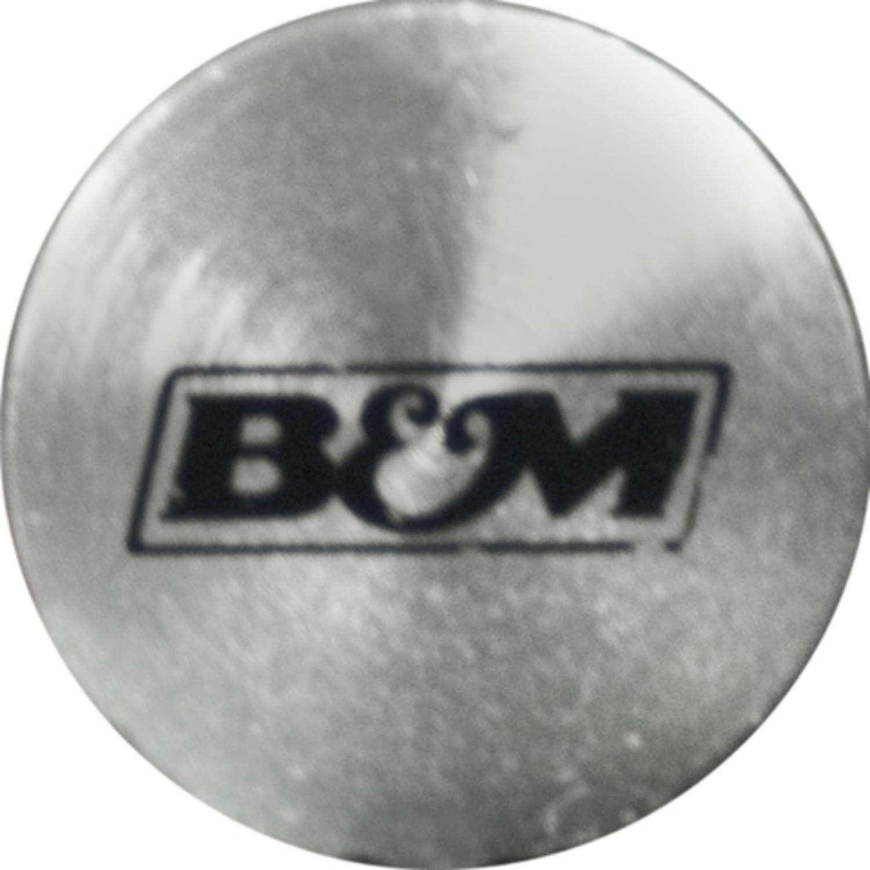B/&M 22166 Braided Aluminum Bell Housing Mount Transmission Dipstick for GM Turbo 400 Transmission