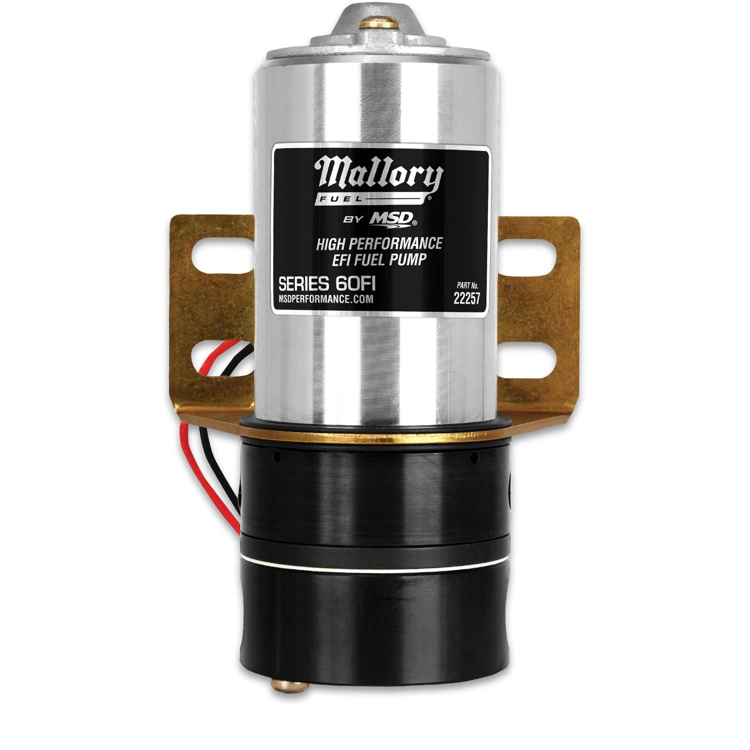 fuel pumps regulators and filters msd performance products mallory 60fi fuel pump