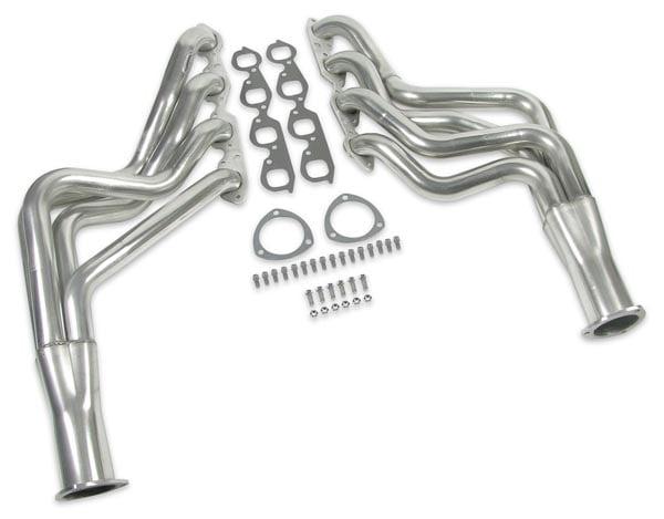 std length // cast manifolds Rover V8 Stainless Exhaust Manifolds Bolts Kit