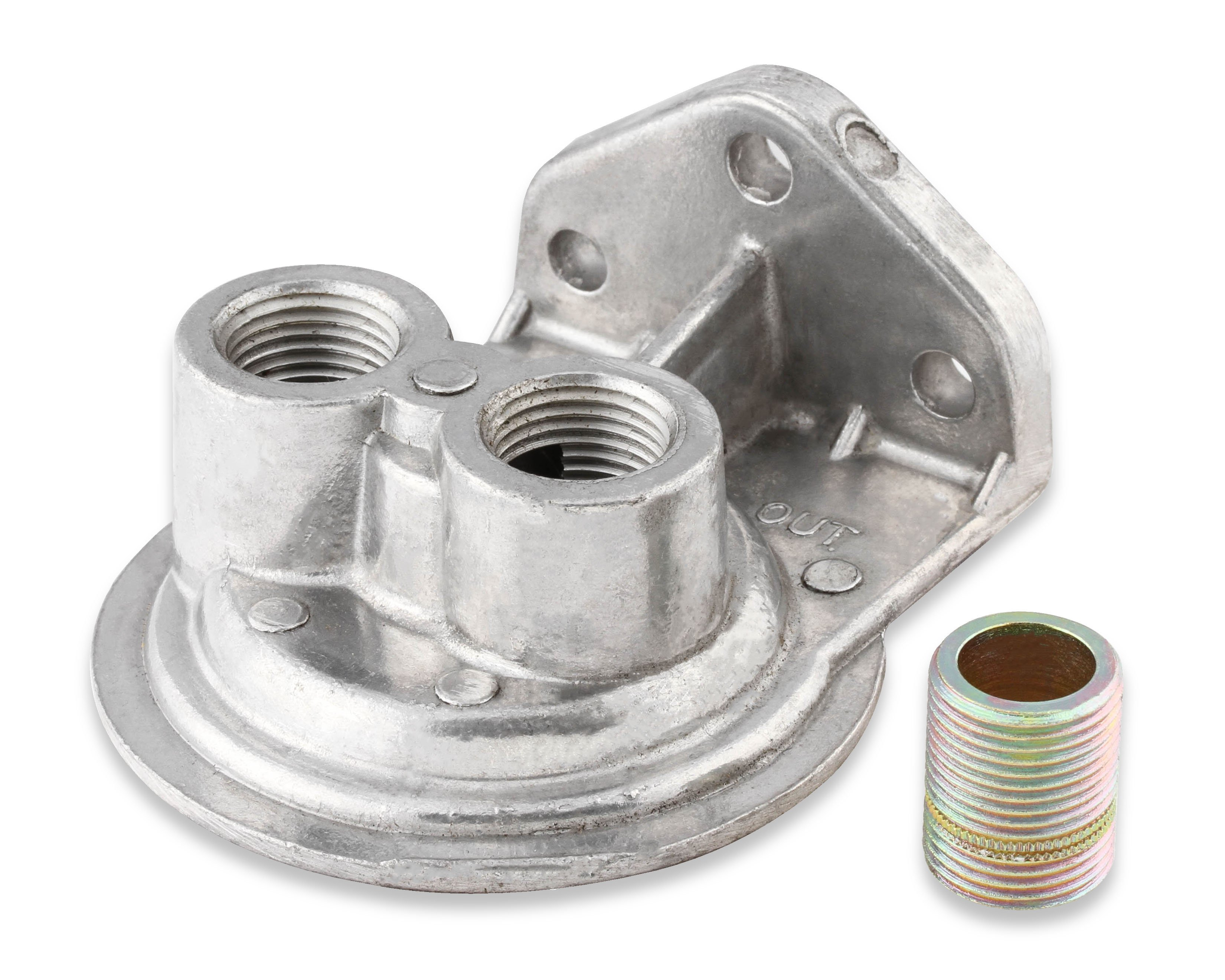 earls 2177erl earls cast remote oil filter mount kit